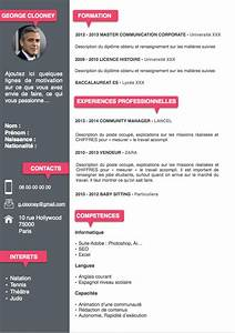 Telecharger modele cv word etudiant cv pinterest for Cv model word