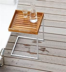 Beistelltisch Garten Holz : beistelltisch garten holz u form 40x40 cm im greenbop online shop kaufen ~ Indierocktalk.com Haus und Dekorationen