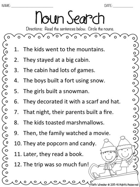 best 25 nouns worksheet ideas on noun
