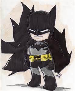 Chibi Batman Cartoon Drawings