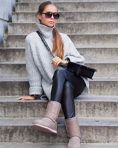 14 Stylish Outfit Ideas on Wearing Uggs | Aelida