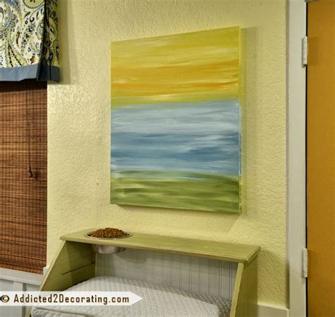 diy quick easy artwork  minute acrylic painting