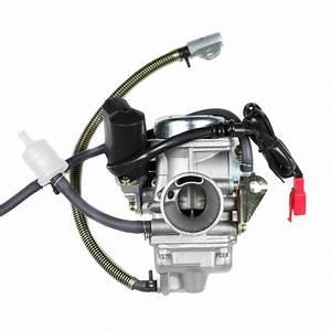 Chinese Pd24j Carburetor - Electric Choke