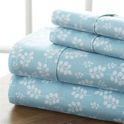 Sears Bed Sheets by Home Premium Ultra Soft Printed Pattern 4