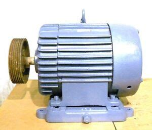 Electric Motor Information by General Electric Ge Induction Motor 5k4326b22 30 Hp