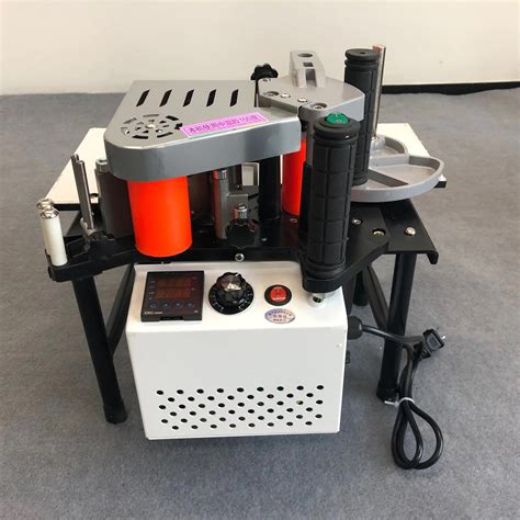 ru delivery woodworking portable edge banding machine double side gluing portable edge bander