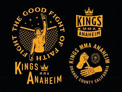 Mma Kings Anaheim Dribbble Merch Designs