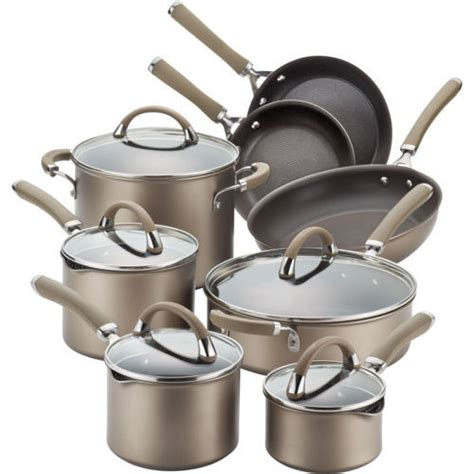 cookware induction circulon stainless steel professional premier anodized piece stove hard chocolate base cooktops types different category
