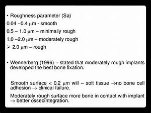 Implant Quality Scale   Osseointegration  Success Criteria