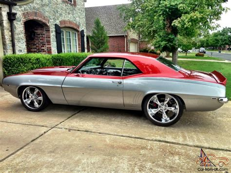 modded muscle cars 1969 camaro pro touring resto mod muscle car ls2