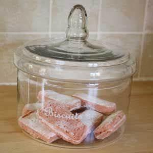 Boite En Verre Deco : bonbonni re de cuisine biscuit bocal biscuit en verre boite biscuits d co bonbonni re ~ Teatrodelosmanantiales.com Idées de Décoration