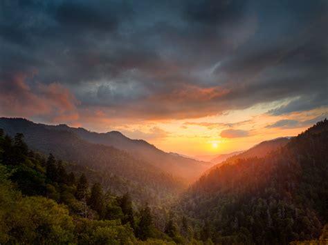 stunning tennessee sunsets