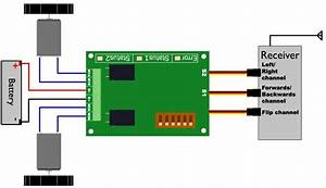 Sabertooth Dual 5a Motor Driver For R  C