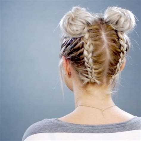ideas  braided short hair  pinterest