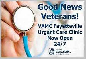 FVAMC Urgent Care Clinic Now Open 24/7 - Fayetteville VA ...