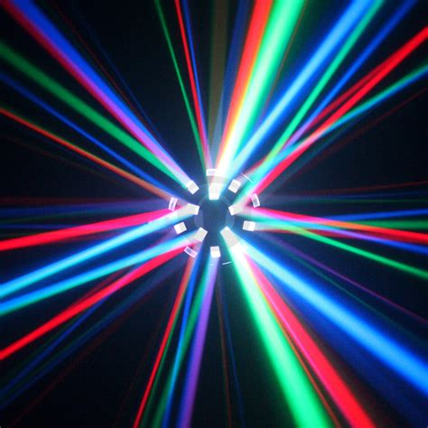 Disco Lights by Ekho Asopus Led 6 X 3w Disco Light Ebay