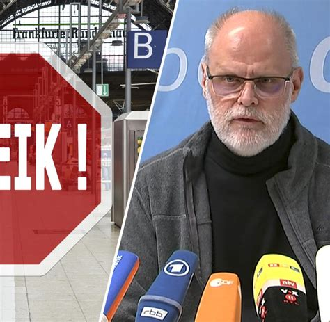 1 day ago · der deutsche bahn steht ein längerer streik bevor: Streik legt Deutsche Bahn lahm - Fernverkehr eingestellt ...