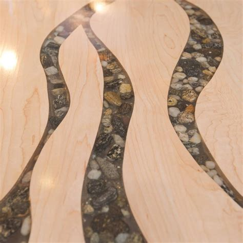 Artisan breads made with local and organic flours. Artisan Made Maple and River Rock Coffee Table at 1stdibs