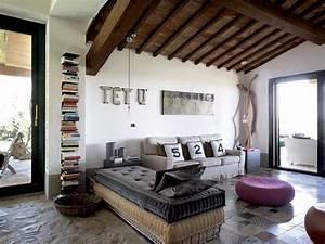 decoration maison de campagne un melange de styles chic With meuble style maison du monde 12 le canape poltronesofa meuble moderne et confortable