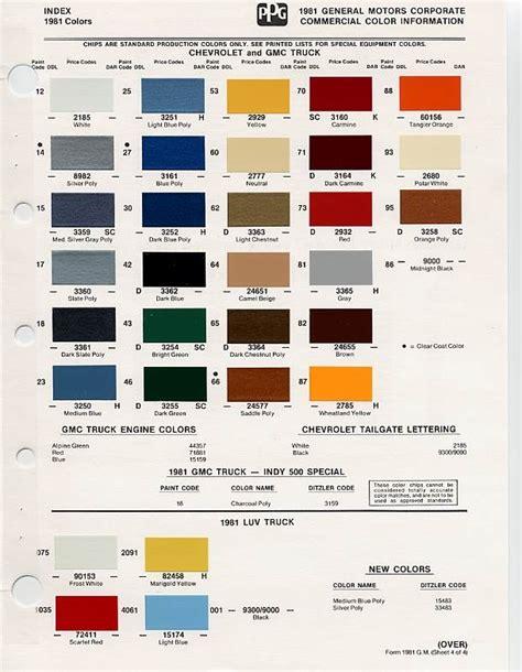 108 best images about auto paint colors codes on pinterest