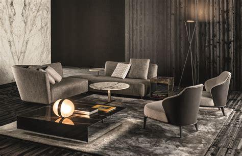 flexform canapé lounge seymour by minotti design rodolfo dordoni