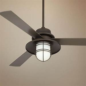 Quot casa solera industrial bronze outdoor ceiling fan
