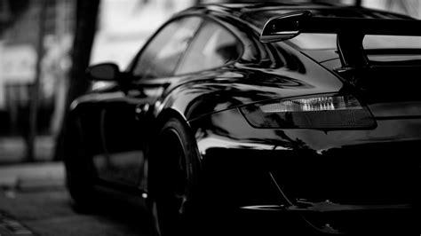 full hd wallpaper porsche black  white sport car