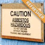 asbestos certification courses training certification