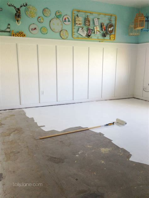 tips on how to paint concrete flooring