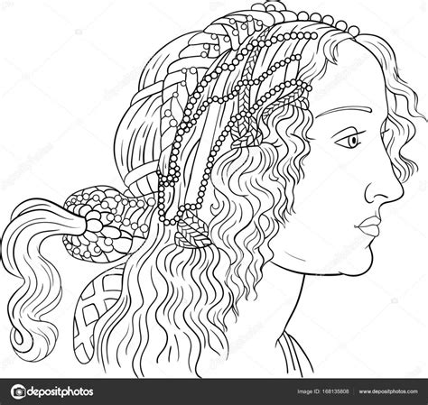 Kleurplaat Meisje Met Jurk by Boek Voor Volwassenen Mode Meisje Kleurplaat Stockvector