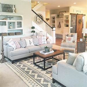 9, , top, rustic, farmhouse, living, room, decor, ideas, for, your, home