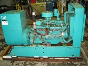 Used 45kw Cummins    Onan Diesel Generator