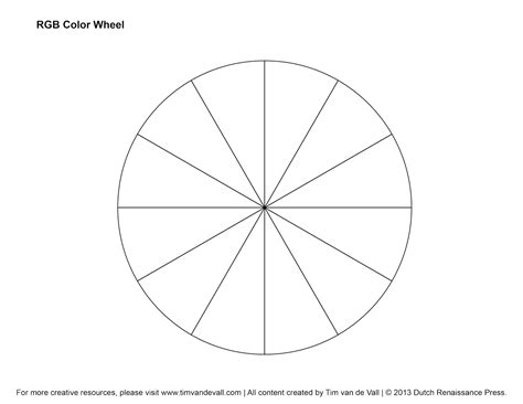 blank color wheel blank color wheel use to practice position holding