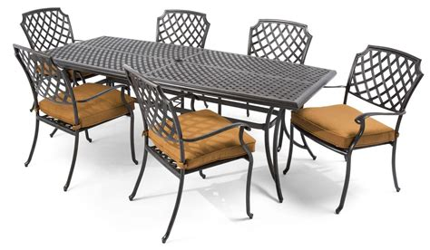 furniture cast aluminum patio furniture with white