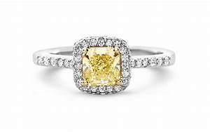 Fancy yellow diamond rings white gold yellow diamond for Wedding rings with yellow diamonds