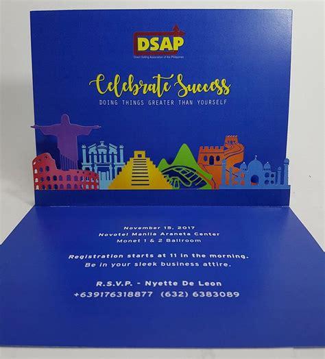 Marketing Celebration Event Invitation Card Pop Up Occasions