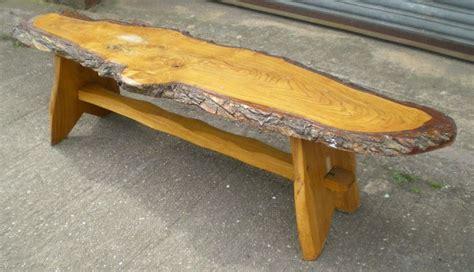 rustic  long log style coffee table log table cool