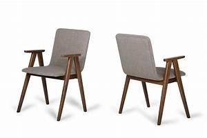Maddox, -, Modern, Sesame, U0026, Walnut, Dining, Chair, Set, Of, 2, -, Dining, Chairs