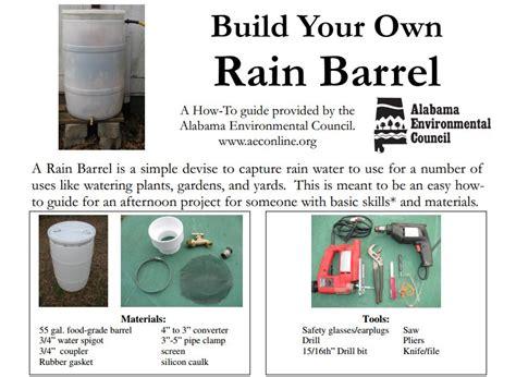 diy rain barrel harvest rain water  garden