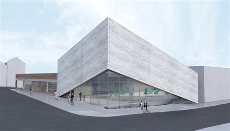 BIG Reveals New Concrete Plan For Kimball Art Center After