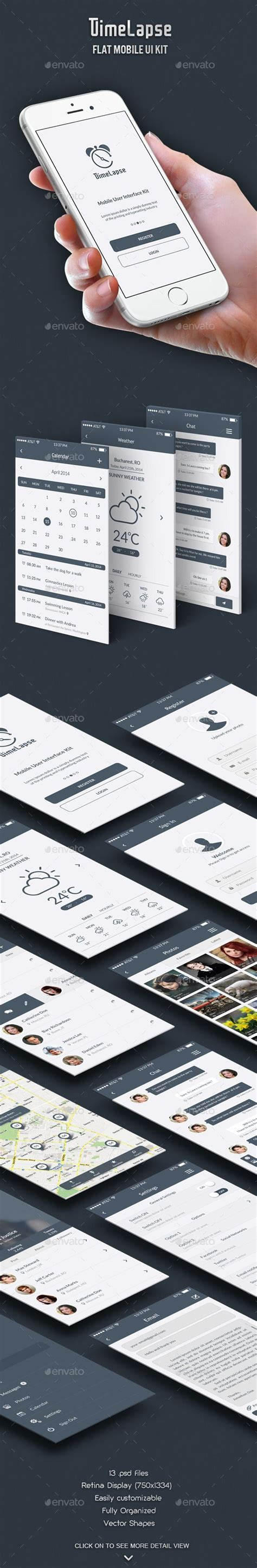 Themeforest Gravity Material Mobile App Template by 1000 Ideas About Mobile Ui On Pinterest Ui Design App