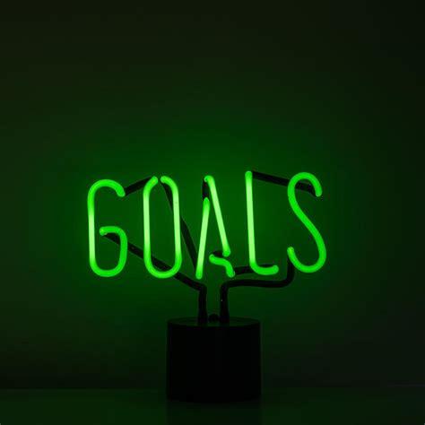 green light company quot goals quot neon light ed co
