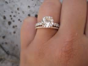 engagement rings with gold bands gold engagement rings weddingbee