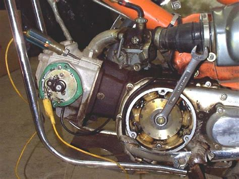 Motorcycle Wiring A Condenser by Dan S Motorcycle Quot Battery Coil Ignition Quot
