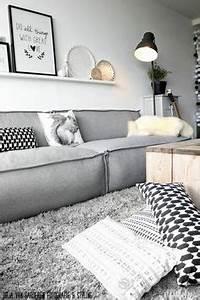 Weiß Graues Sofa : die 225 besten bilder von graues sofa graues sofa ~ A.2002-acura-tl-radio.info Haus und Dekorationen