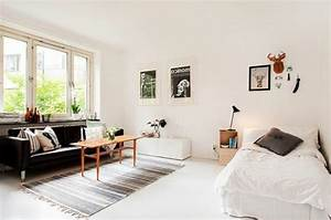 meubler un studio 20m2 voyez les meilleures idees en 50 With comment meubler un petit studio 2 location etudiant amenagement du studio et deco pas