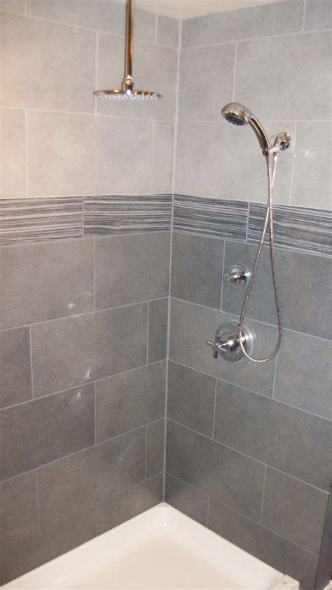 gray tile bathroom ideas wonderful shower tile and beautiful lavs notes from the