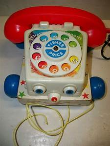 1961 Fisher Price Toys Chatter Telephone
