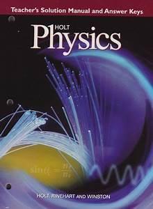 Holt Physics Textbook Answers Pdf  Delightfulart Org
