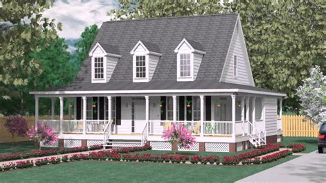 Two Story House With Wrap Around Porch by House Plans With Wrap Around Porch Two Story